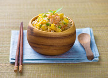 Chinese fried rice , or nasi goreng popular cusine in asia. Photo stock photography