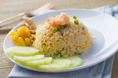 Chinese fried rice , or nasi goreng popular cusine in asia Royalty Free Stock Photo
