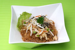 Chinese fried rice noodles Royalty Free Stock Photography