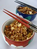 Chinese fried rice with 5 spice powder Stock Photos