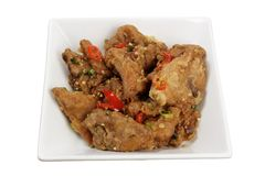 Chinese Fried Spare Ribs Stock Image