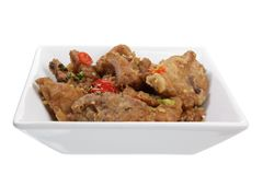 Chinese Fried Spare Ribs Royalty Free Stock Photo