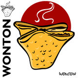 Chinese Fried Wonton Royalty Free Stock Photo