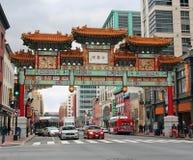 Chinese Friendship Gate in Washington,DC Royalty Free Stock Photos
