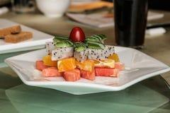 Chinese fruit dessert salad Royalty Free Stock Image