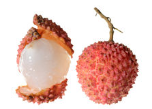 Chinese fruit litchi Royalty Free Stock Photo