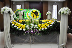 Chinese Funeral Royalty Free Stock Images