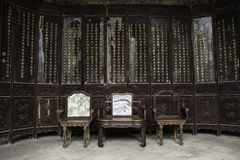 Chinese Furniture Stock Photos