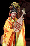 Chinese Gaojia Opera performer make a show on stag Stock Images