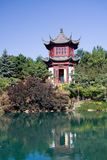 Chinese Garden. The Chinese Garden of the Montreal Botanical Garden royalty free stock photos