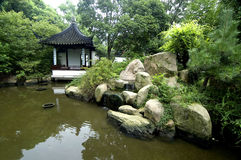 Chinese garden. Chinese Classical Gardens of Suzhou stock images