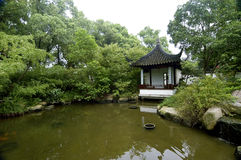 Chinese garden. Chinese Classical Gardens of Suzhou stock photo