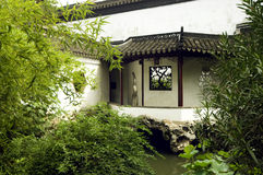 Chinese garden. Chinese tradition Classical Gardens of Suzhou royalty free stock images