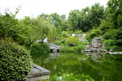 Chinese garden. Chinese Classical Gardens of Suzhou stock photography