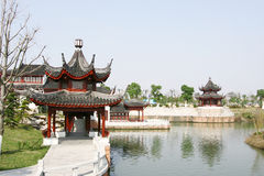 Chinese garden. The scene of the chinese garden in yuyuan shanghai china Royalty Free Stock Image