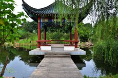 Chinese garden Royalty Free Stock Photo