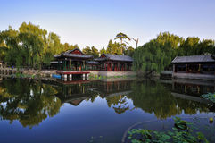 Chinese Garden   Stock Photography