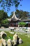 Chinese Garden. In Santa Lucija - Malta Stock Image