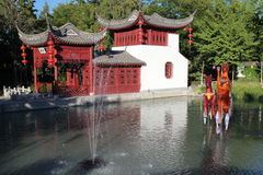 Chinese garden Stock Photos
