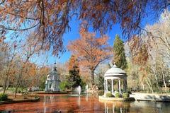 Chinese garden in Aranjuez. The chinese garden in ganden Principe in Aranjuez, Spain Royalty Free Stock Image
