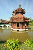 Chinese garden architecture. Royalty Free Stock Photography