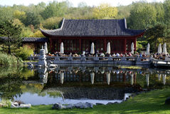 Chinese garden in Berlin - Germany Royalty Free Stock Photo