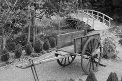 Chinese Garden Cart Stock Photos