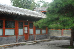 Chinese garden, court yard style Stock Photo