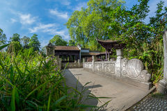 Chinese garden in Frankfurt Stock Photography