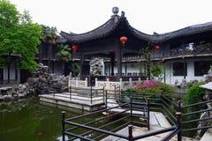 Chinese garden Geyuan Stock Image