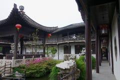 Chinese garden Geyuan Royalty Free Stock Photo