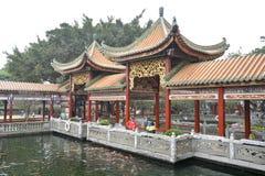 Chinese garden in Guangdong. Bao Mo Garden. stock image