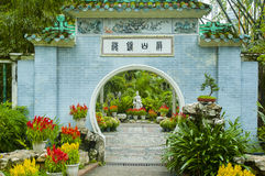 Chinese garden Stock Photo