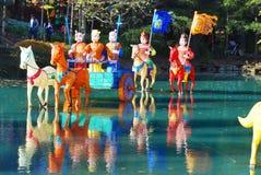 The Chinese Garden Royalty Free Stock Photos