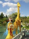 Chinese garden at the Montreal Botanical Garden Royalty Free Stock Photos