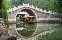 Chinese garden scenery Stock Photo