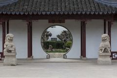Chinese Garden of Serenity in Santa Luċija Malta royalty free stock photography