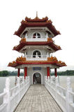 Chinese Garden in Singapore Stock Image