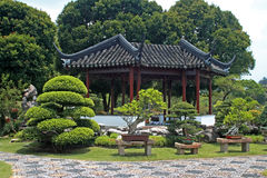 Chinese Garden in Singapore Royalty Free Stock Images