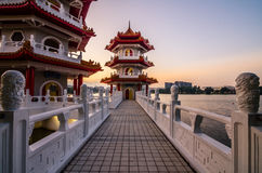 Chinese Garden of Singapore Royalty Free Stock Photography