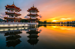Chinese Garden of Singapore Stock Images