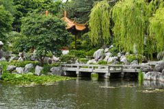 Chinese Garden, SYdney, Australia Stock Photos