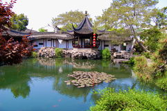 Chinese gardens Royalty Free Stock Images