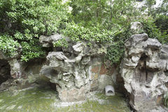 Chinese gardens, stone Royalty Free Stock Photography