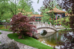 Chinese Gardens Zurich Stock Photos