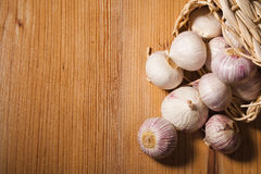 Chinese garlic Stock Photography