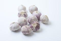 Chinese garlic bulbs royalty free stock image