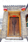 Chinese gate Royalty Free Stock Photography