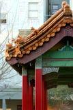 Chinese Gate In Chinatown Stock Photo