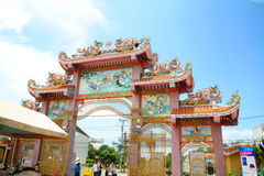 Chinese gate Royalty Free Stock Photos